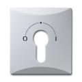 Накладка для выключателя с замком (IP44) Allwetter 44, серебрист