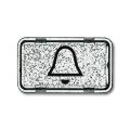 """Линза прозрачная с символом """"звонок"""" Allwetter 44"""