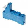 95.05.SMA | 9505SMA | Розетка для реле 40.51, 40.51, 40.61 и модуля 99.02/86.30 -  синяя- 10А